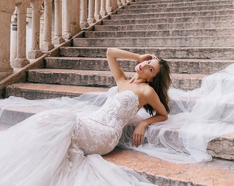 Wedding dresses, JUDIL, lace bridal dress, lace bridal gown