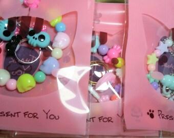 Kawaii Grab Bag of Cute Accessories - Small Kawaii Lucky Pack - Choose Theme - Pastel Kawaii - Sweets - Creepy Cute - Ddlg - Adult Baby