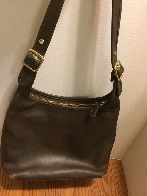Authentic Coach Legacy Bag.  Brown Leather. Vintage.