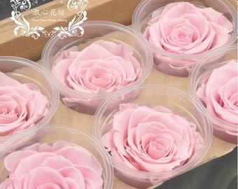 Pink Preserved Fresh Rose Flower ,Dried Fresh Flower ,Rose Flower DIY Gift