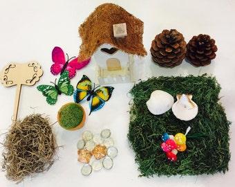 fairy garden kit. beautiful ideas. Home Design Ideas