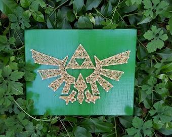 Zelda TriForce String Art Made to Order Home Decor