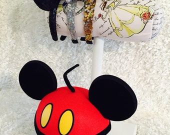 Mouse Ear Display and 1 Hat Holder-Different Base Colors Available