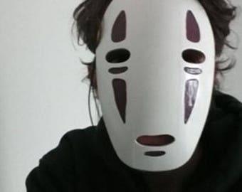 Spirited away no-face mask  |Studio Ghibli | Cosplay | Cosplay Mask | Mask | Comic Con | Cosplay Prop | Costume | Anime | Prop
