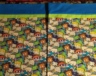 Custom made Rugrats Pillowcases