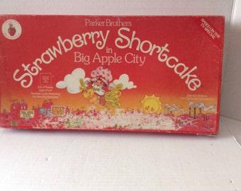 Vintage Strawberry Shortcake Game