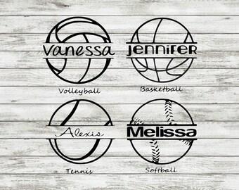Sports Decal | Vinyl | Car Decal | Volleyball | Basketball | Tennis | Softball | Baseball | Soccer