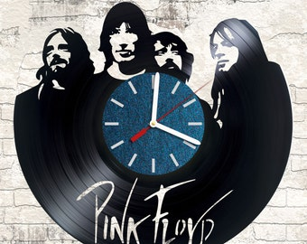 Vinyl Clock /Pink Floyd/interesting element of decor/ for music and creative beginning lovers