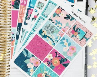Glitter Weekly Planner Sticker Kit! Perfect for your Erin Condren Life Planner!