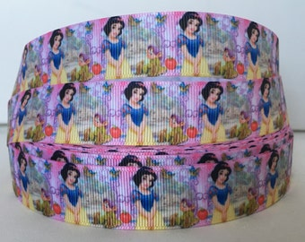 5 YDS Snow White and Dopy Ribbon