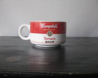1994 Campbell's Tomato Soup Mug / Vintage Campbell's Soup Mug / Campbell's Soup Collectible / Campbell's Soup Decor