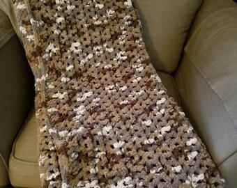 Handmade Super Soft Afghan Throw Blanket