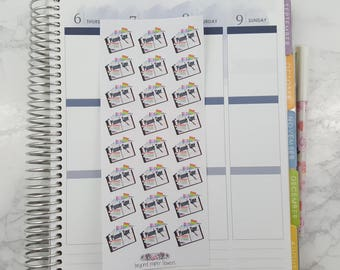 Planner Time Stickers