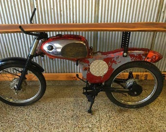Mid 1960's Suzuki Hillbilly Motorcycle Display / Bar Table