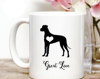 Great Dane great love Coffee Mug
