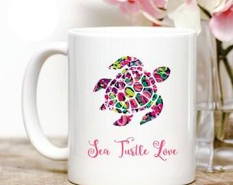 Sea Turtle Love Coffee Mug
