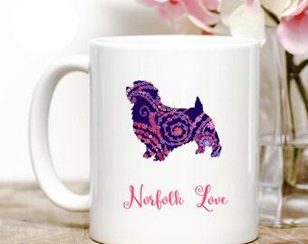 Norfolk Terrier love Coffee Mug