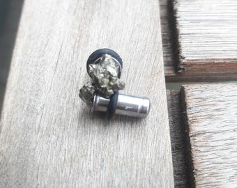 4G Pyrite Cleansing Plugs