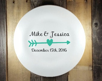 Personalized Plate, Custom Dinner Plate, Personalized Ceramic Plate, Custom Dinner Plate, Quote Plate, Sayings Plate, Decorative Plate