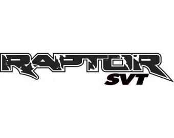 Ford Raptor Vinyl Decal