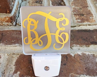 Night Light Monogrammed Personalized LED