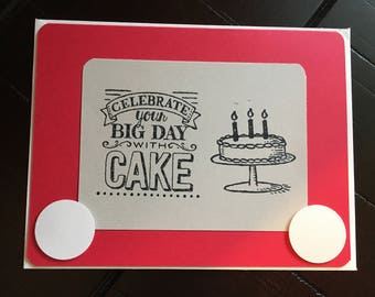 Etch a Sketch Birthday Card Stampin' Up!