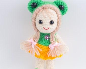 Crochet Doll, Handmade Crochet Doll, Handmade doll Gift ideas for children