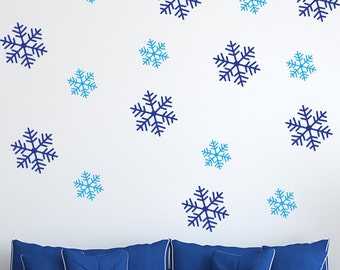 Snowflakes - Vinyl Wall Stickers