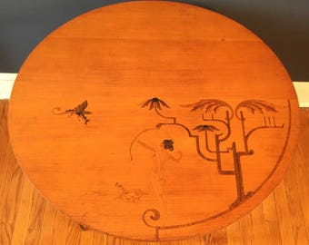 Andrew Szoeke Inlayed Table