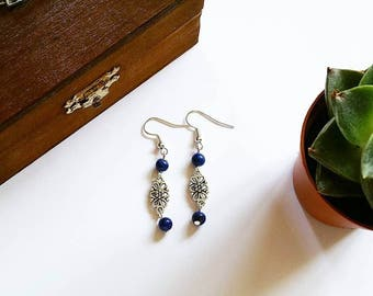 Elven Earrings: Countess Julia (Lapis Lazuli)