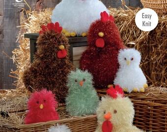 Hens & Chicks Knitting Pattern