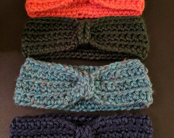 Crochet Chained Ear Warmer/Headband
