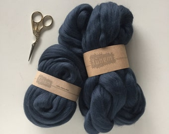 Merino Wool Roving 711 Anthracite