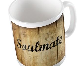 Rustic Soulmate mug