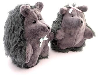Hedgehog. Stuffed toy hedgehog. Plush hedgehog toy. Handmade stuffed hedgehog. Cuddly hedgehog. Exclusively Handmade