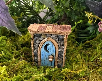 Miniature Shingletown Outhouse