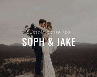 Order for Soph & Jake