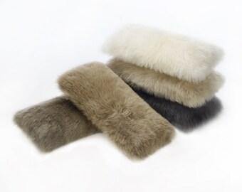 Longwool Sheepskin Lumbar Cushions