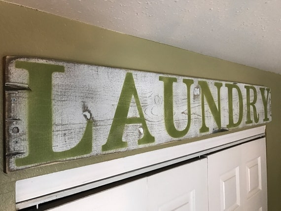 laundry Room Decor, Laundry Decor,  Laundry Signs, Laundry Room Sign, Laundry Room Wood Sign, Laundry Room Wood Decor, Wood Laundry Decor