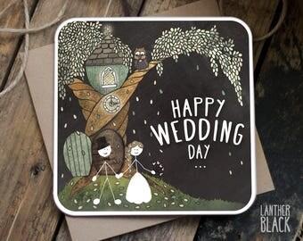 Wedding Card Congratulations / Happy Wedding Day / SM28