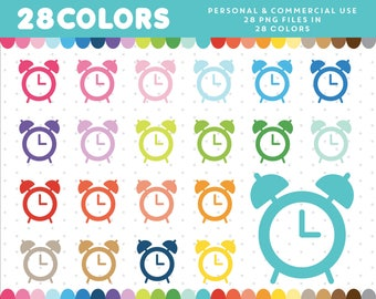 Alarm Clock clipart, Clocks clip art, Digital Alarm Clock icon, Clock graphics, Clock Icon, Planner Clipart Icon Supplies, CL-327