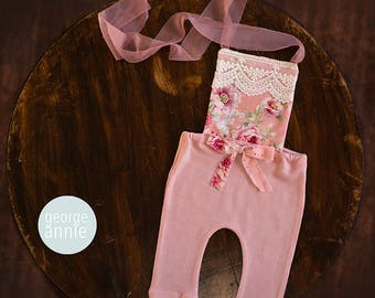 Romper - Newborn, 6-9 Months or 12 Months - Photography Prop