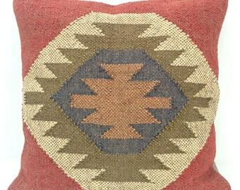 """Kilim Cushion Cover 18 x 18"""" (45 x45cm)"""