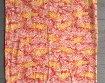1930s, vintage floral fabric
