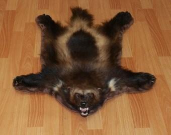 Wolverine Pelt Etsy