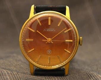 Watch for Him, Men's Watch, Watch, Red Watch, Mechanical Watch, Watch Gift for Him, Husband Gift, man watch