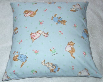 Beatrix Potter Tom Kitten Moppet Mittens and Puddle Ducks cushion