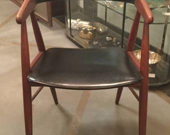 Mid Century Chair by Kai Christiansen for Hovedstatens Mobelfabrik, Denmark