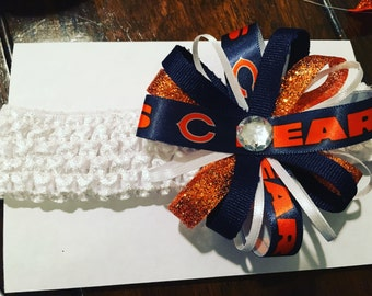Chicago Bears headband