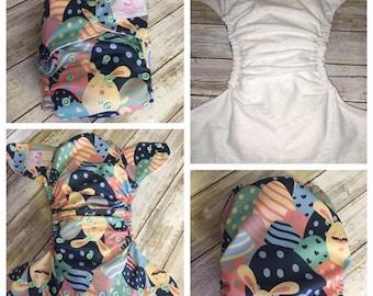 Easter Eggs OS Pocket Cloth Diaper